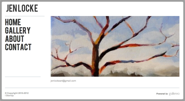 New Featured Artist Website Jen Locke