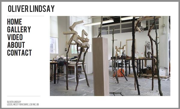 New Featured Artist Website: Oliver Lindsay Sculpture
